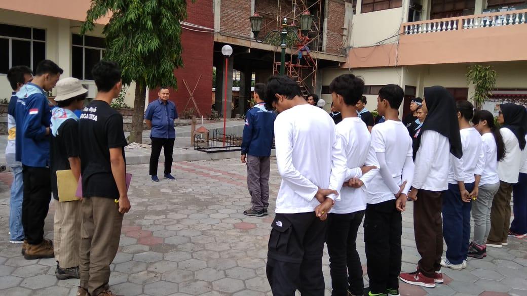 Bpk. Muhammad Fairuzabadi, M.Kom (WR II UPY) memberikan Sambutan dalam acara pembukaan BBA